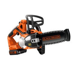 BLACK+DECKER - Trononneuse 20cm sans fil LITHIUMION 18V  2Ah - GKC1820L20K