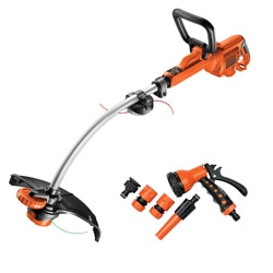 BLACK+DECKER - Coupebordures lectrique 900W   Kit darrosage - GL9035SPKIT