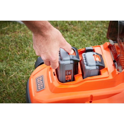 BLACK+DECKER - TONDEUSE 33CM  LITHIUM 18V  2 BATTERIES 4 AH - BCMW33184L2