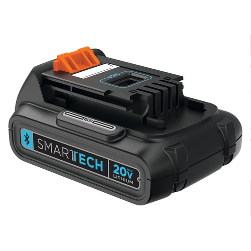 BLACK+DECKER - Souffleur sans fil Lithium 18 V POWERCOMMAND  smart tech 2 Ah - GWC1820PST