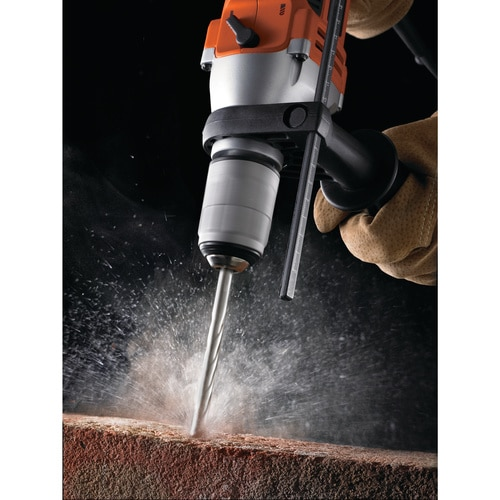 BLACK+DECKER - Perceuse  percussion 800W - KR805K