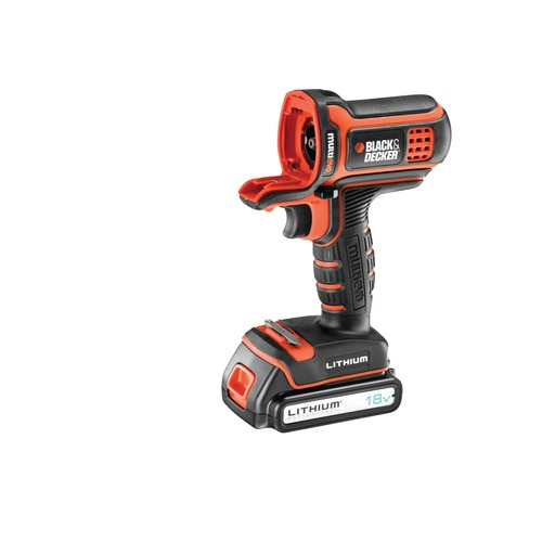 BLACK+DECKER - Perceuse visseuse Multievo 18V  Lithium Ion - MT18K