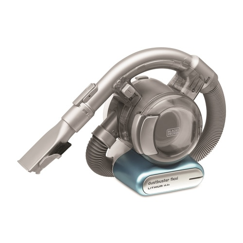 BLACK+DECKER - Aspirateur  main sans fil  144 V  Autonomie  12 min   Capacit du bol  560 ml  Charge   4h  Base de charge  Spcial animaux  4 accessoires - PD1420LP