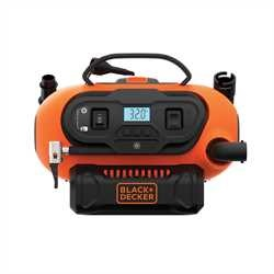 BLACK+DECKER - Gonfleur  Compresseur 11 bars 160 PSI - BDCINF18N