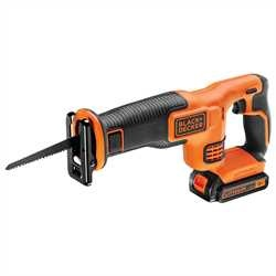 BLACK+DECKER - Scie sabre 18V  LithiumIon - BDCR18