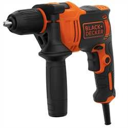 BLACK+DECKER - Perceuse  percussion 550W - BEH550K