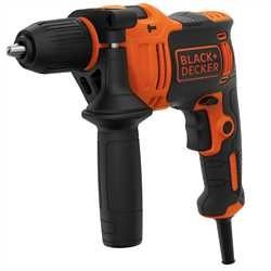 BLACK+DECKER - Perceuse  percussion 710W - BEH710K
