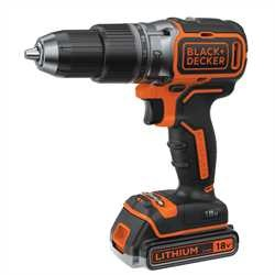 BLACK+DECKER - Perceuse  percussion BRUSHLESS 18V - BL188E2K