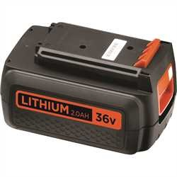 BLACK+DECKER - FR 36V 20Ah Lithium Ion Battery - BL2036