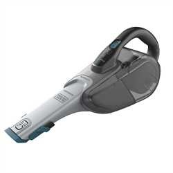 BLACK+DECKER - Dustbuster SMART TECH Lithium 108V  2Ah  anthracite et bleu - DVJ325BF