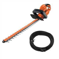 BLACK+DECKER - Taillehaies 500W 55cm nu  cble dextention - GT5055CAKIT