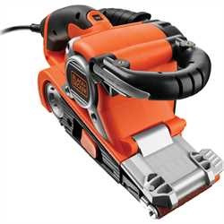 BLACK+DECKER - Ponceuse  bande 75x533mm  750W - KA89EK