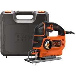 BLACK+DECKER - FR 550w AutoSelect Jigsaw and Kit box - KS801SEK