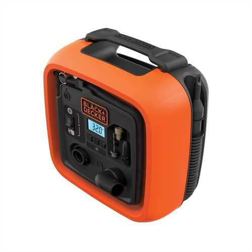 BLACK+DECKER - Gonfleurcompresseur 11 BARS  160 PSI - ASI400