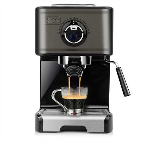 BLACK+DECKER - Cafetire espresso 1200W - BXCO1200E