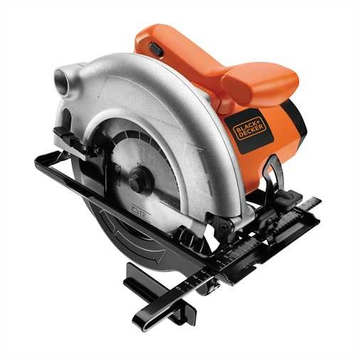 BLACK+DECKER - Scie circulaire 1100W  55mm - CD601