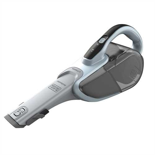 BLACK+DECKER - Aspirateur  main sans fil  108 V  Capacit du bol  610 ml  Prolongateur intgr et brosse retractable  2 vitesses daspiration - DVJ325J