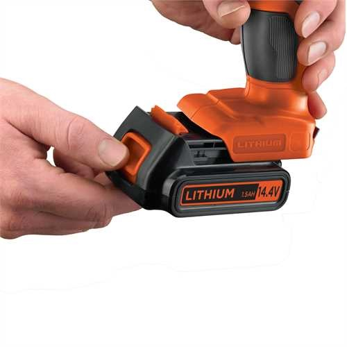 BLACK+DECKER - Perceuse visseuse 144V Lithium - EGBL14KB