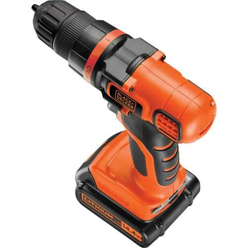 BLACK+DECKER - Perceuse visseuse 144V Lithium - EGBL14K