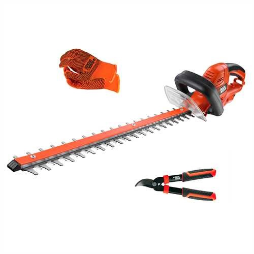 BLACK+DECKER - Taillehaies 600W lame 60cm en kit - GT6060KIT
