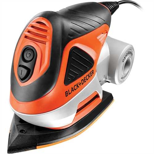 BLACK+DECKER - Multiponceuse 2 en 1  170W - KA272