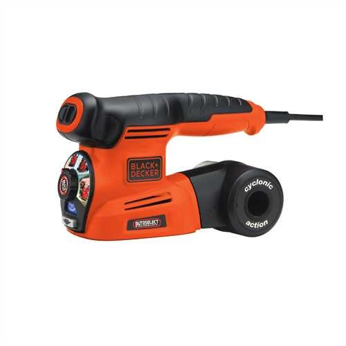 BLACK+DECKER - Ponceuse multi 4 en 1 Autoselect  6 accs - KA280