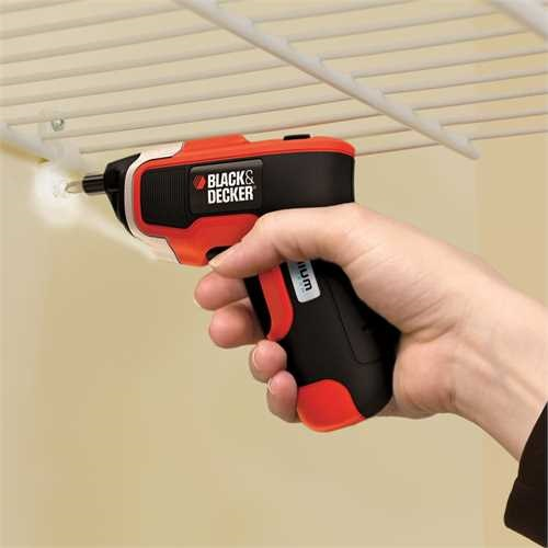 BLACK+DECKER - Tournevis Lithium compact 36V - KC460LN