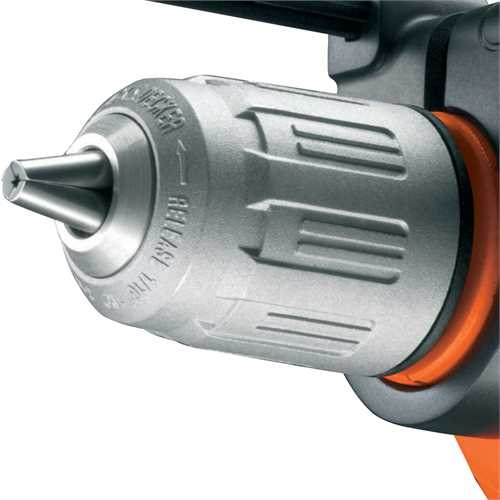 BLACK+DECKER - Perceuse  percussion 500W - KR504CRESK