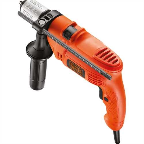 BLACK+DECKER - Perceuse  percussion 500W - KR504CRE
