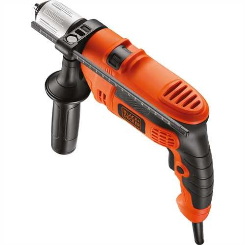 BLACK+DECKER - Perceuse  percussion 600W - KR604CRES