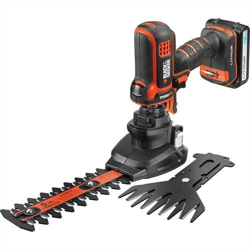 BLACK+DECKER - Taillehaies 18V Multievo  LITHIUM  cisaille - MT18SSK