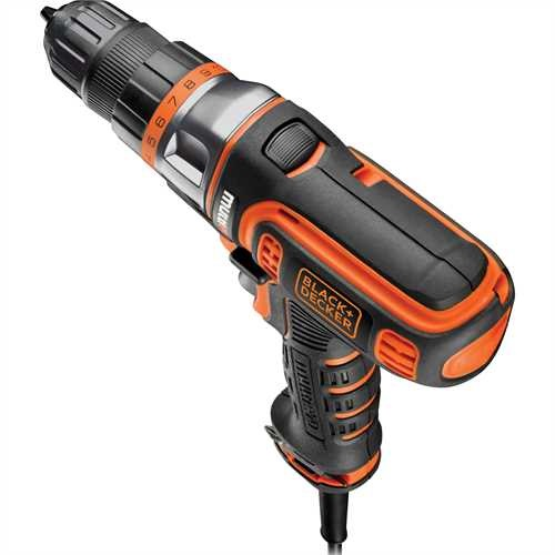 BLACK+DECKER - 300W corded Multievo multitool with drill driver head - MT350K