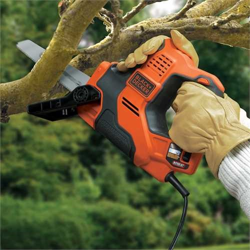 BLACK+DECKER - Scie  main Scorpion Autoselect 500W - RS890K